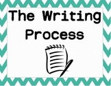 Writing Process Posters - Upper Grades