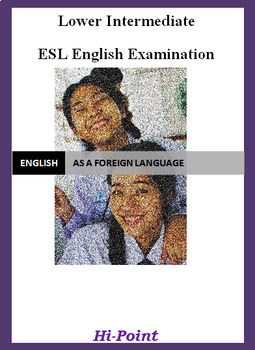 Lower Intermediate English ESL EFL Exam: Crime; Adjectives ED or ING; Past Sim.