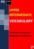 Upper Intermediate ESL English Vocabulary Puzzles Workshee