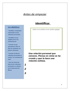Upper Level Spanish Complete Unit Plan- Una vida completa
