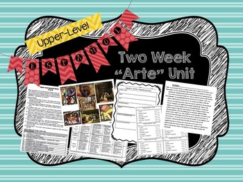 Upper-Level Spanish (Español 3 4) Art/Arte TWO WEEK Unit