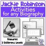 Black History Month Speech Therapy Activities | Jackie Robinson