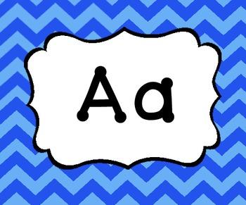 Chevron Alphabet