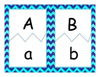 Upper & Lower Case Alphabet Puzzles