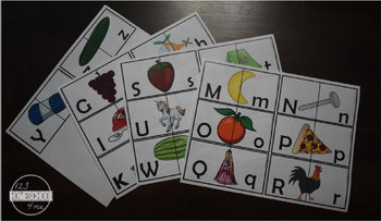 Upper / Lower Case Alphabet Puzzles