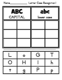 Upper Lower Case Alphabet Sort 1 by Saxon Ll,Oo,Gg, Hh, Tt