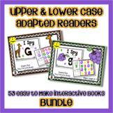 Upper & Lower Case Bundle - 53 Adapted Alphabet 'I Spy' Ea