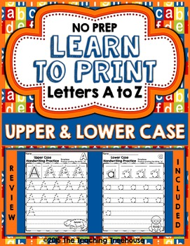 Upper & Lower Case Handwriting