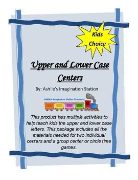 Upper & Lower Case Letter Center