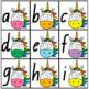 Upper & Lower Case Letter Match - Rainbow Unicorns