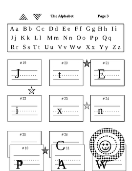 Upper & Lower Case Letters