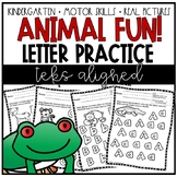 Upper & Lower-Case Letters Practice (TEK k.1b)