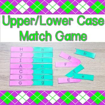 Upper/Lower Case Match Game