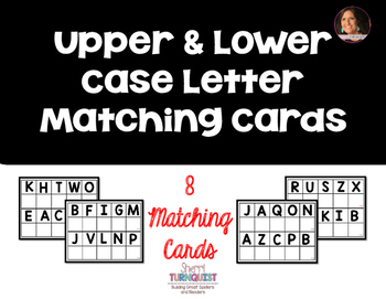 Upper & Lower Case Matching Cards