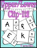 Upper/Lowercase Clip It Cards (2 choices)