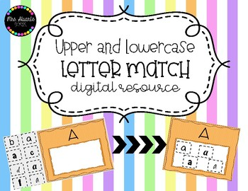 Upper & Lowercase Letter Match Digital Resource
