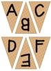 UPPER & lower Case Letter Recognition Matching Game ~ Ice Cream Cones