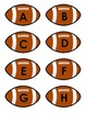 Upper/Lowercase Letters - Football