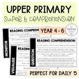 Upper Primary Super Six Comprehension - Use with ANY text!