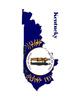 Upper South United States Flag Maps