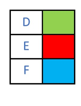 Upper and Lower Case Alphabet Fold and Match