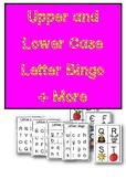 Upper and Lower Case Bingo