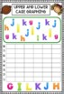 Upper and Lower Case Letter Graphing