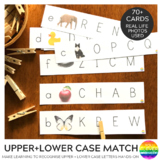 Upper and Lower Case Letter Match Strips