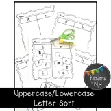 Upper and Lower Case Letter Sort