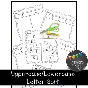 Upper and Lower Case Letter Sort