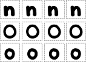 Upper and Lower Case Letters Cut and Paste Sheets
