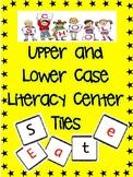 Upper and Lower Case Literacy Center Tiles