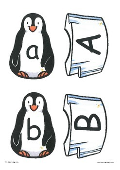 Upper and Lower Case Matching: Penguins and Icebergs