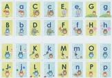 Upper and Lower Case Owl Themed Alphabet