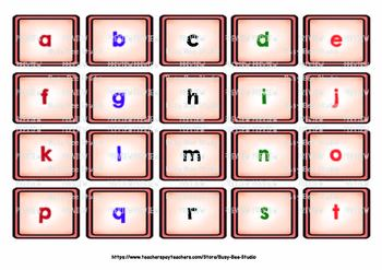 Upper and Lower Case Sorts   Sorting Mats
