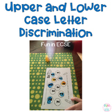 Upper and Lower Case Visual Discrimination