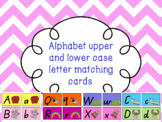 Upper and Lower case alphabet cards  #ausbts19