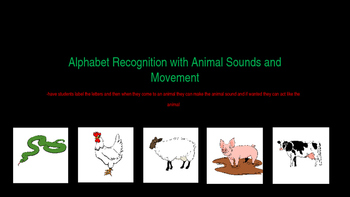 Upper and Lowercase Animal Recognition