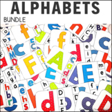 Upper and Lower case Letter Match Bundle
