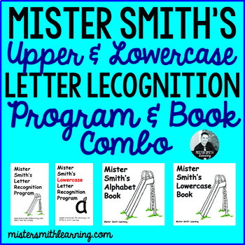 Upper and Lowercase Flashcards and Book Combo