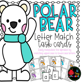 Upper and Lowercase Letter Match-Polar Bears