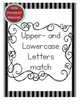 Upper- and Lowercase Letter Matching