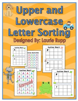 Upper and Lowercase Letter Sorting