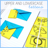 Upper and Lowercase Letters Interactive Notebook