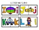 Upper and Lowercase Matching Puzzles: Transportation