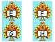Upper and Lowercase TURKEY Alphabet Flashcards