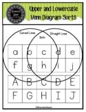 Upper and Lowercase Venn Diagram Sorts
