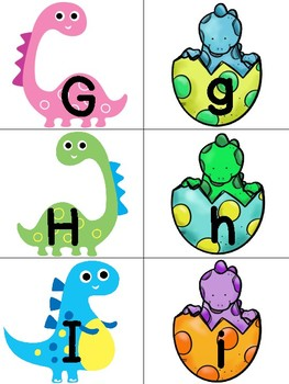 Upper and Lowerclass Matching Dinos