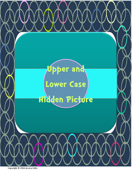Upper and lowercase Hidden Picture