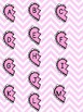 Upper to Lower Case Match File Folder Game- Valentine's Day